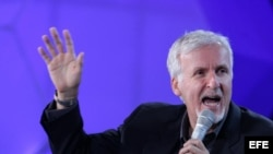 El cineasta canadiense James Cameron.
