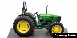 El fabricante de maquinaria agrícola estadounidense John Deere está vendiendo a Cuba tractores de su serie 5000 (75-115 HP).