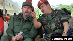 Castro y Chávez crearon en La Habana el Frente Francisco de Miranda