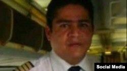 Tripulación del avión accidentado: Jorge Luis Núñez, comandante de vuelo.