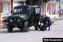 Cuba detención de Iván Hernández para impedirle asistir a misa domincal en Colón
