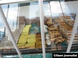 Reporta Cuba. Dulcería en Güira de Melena (negocio privado). Foto: Martha Domínguez.