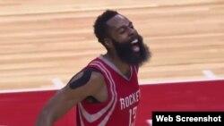 James Harden, escolta de los Rockets de Houston.
