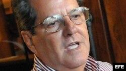 El opositor cubano Oswaldo Payá.