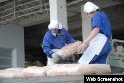 Candil de la calle: el cemento cubano se envía a Venezuela y otros países.
