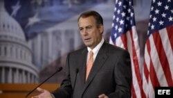 El presidente de la Cámara de epresentantes, John Boehne,