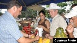 Un punto de venta de productos del agro en Sancti Spiritus