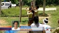 Dama de Blanco recibe paliza de las autoridades castristas antes de ser liberada
