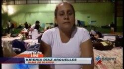 Una Dama de Blanco entre los cubanos varados en Costa Rica