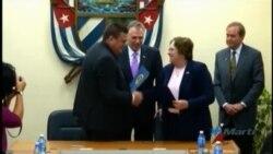 Firman acuerdo de entendimiento entre puertos del Mariel y Virginia
