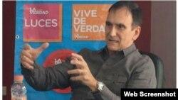 Presidente de la Comisión de Relaciones Comerciales México–Cuba, Jorge Manzanilla Pérez.