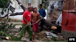 Residente en Velazco, Holguín, describe situación tras el paso del ciclón