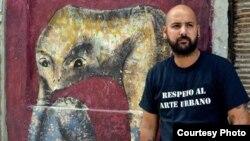 Detenido en La Habana el grafitero Yulier Pérez