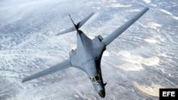 Lancer B-1B . (Archivo)
