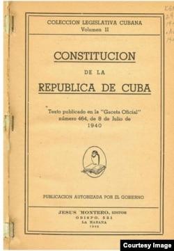 Constitución de la República de Cuba (1940)