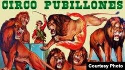 Afiche del Circo Pubillones.