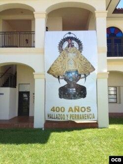 Imágen de la Virgen en la Ermita de la Caridad