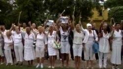 Régimen castrista desata un domingo más de represión contra Damas de Blanco