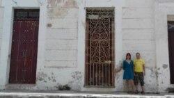 La fachada de una casa en Camagüey, escenario para performance contestatario