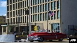 Embajada de Estados Unidos en Cuba. Foto Archivo.