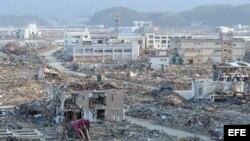 Japon tras el terremoto de 9 grados y tsunami en marzo de 2011
