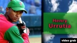 En su última temporada en Cuba, Henry Urrutia bateó para 397, con 12 jonrones y 76 extrabases