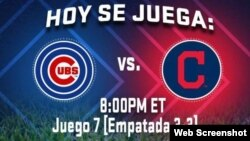 Foto tomada del Twitter de LasMayores.com. Radio Martí transmitirá el juego a las 8:00 de la noche.