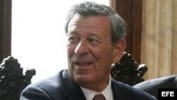 Rodolfo Nin Novoa, ministro de Relaciones Exteriores de Uruguay. Archivo.