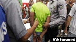 Detenciones en Cuba.