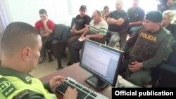 Nueve cubanos fueron descubiertos sin permisos legales en Fredonia, departamento colombiano de Antioquia.