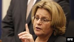 La congresista estadounidense Ileana Ros-Lehtinen.