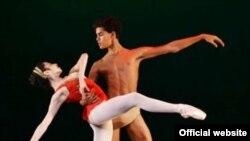 El bailarín Francisco Serrano