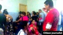 Foto/Janny Dachel Cuerpo de guardia hospital Camagüey