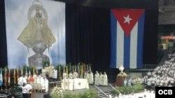 La fiesta de la Virgen de la Caridad del Cobre, patrona de Cuba en Miami