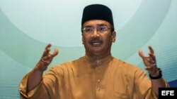 El titular de Defensa malasio, Hishammuddin Hussein. Foto de archivo.
