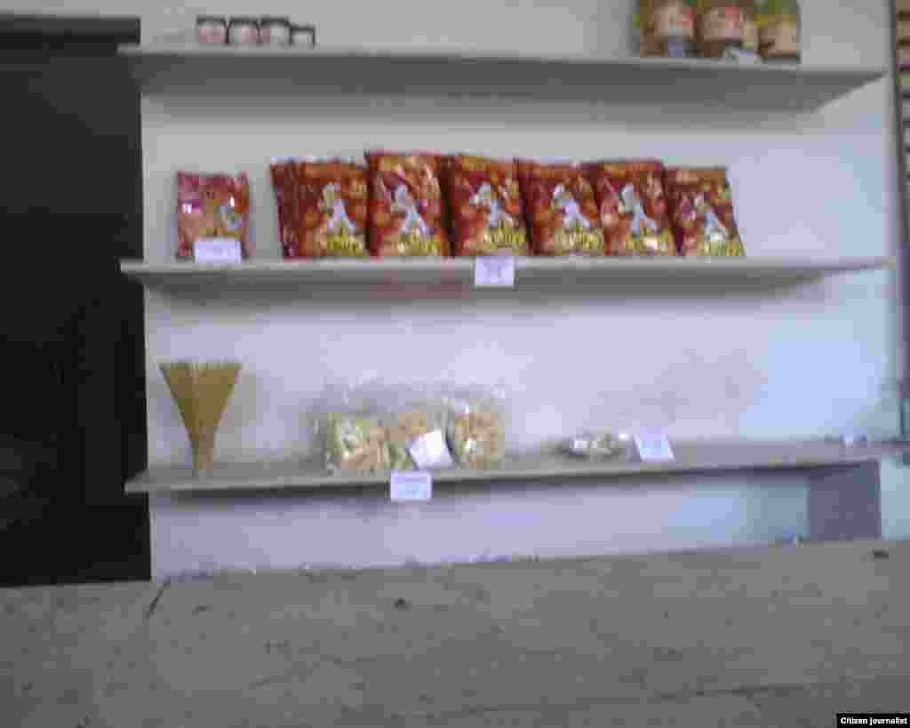 Mercados privados de venta a la población en Cabaiguán, Sancti Spíritus.
