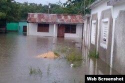 Pinar del Río, zona más afectada por las lluvias en Cuba tras el paso de Alberto.
