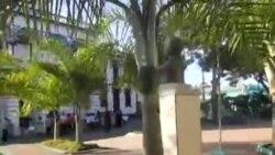 Protesta en Palma Soriano