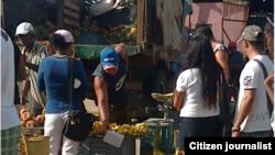 Reporta Cuba. Mercado en Caibarién. Foto: Cristianosxcuba.
