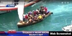 Guardia Costera intercepta la embarcación