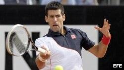 El tenista serbio Novak Djokovic, número dos del mundo.
