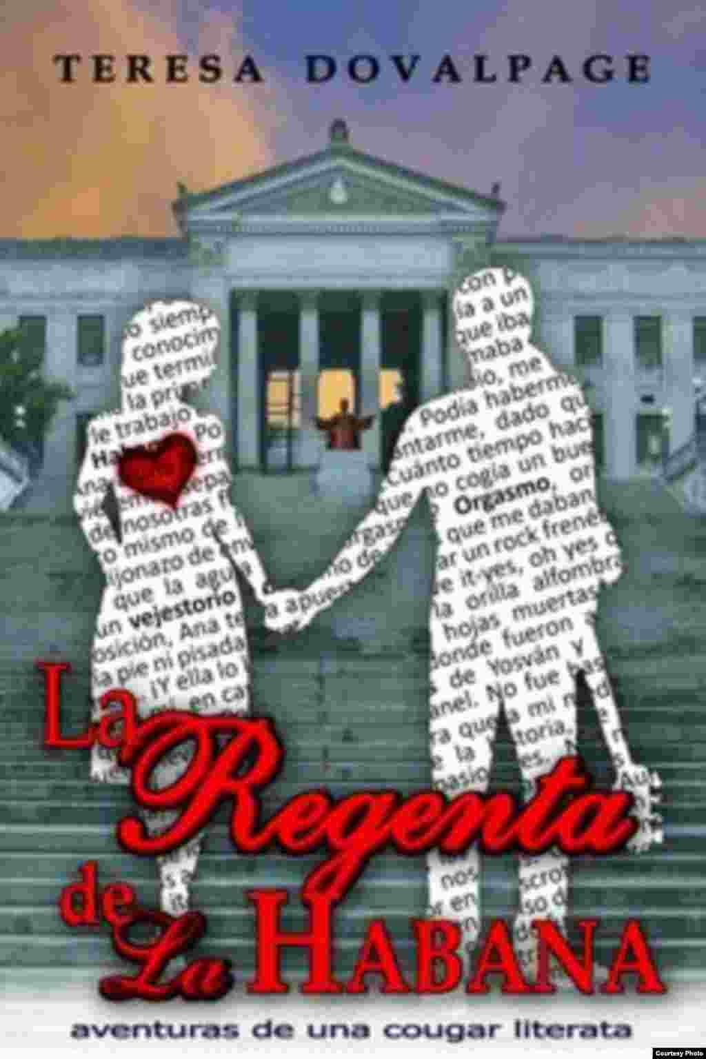 """La regenta de La Habana"", (Portada de Ernesto Valdes)."