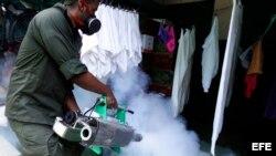 Campaña para luchar contra el mosquito trasmisor del virus del zika febrero 2016