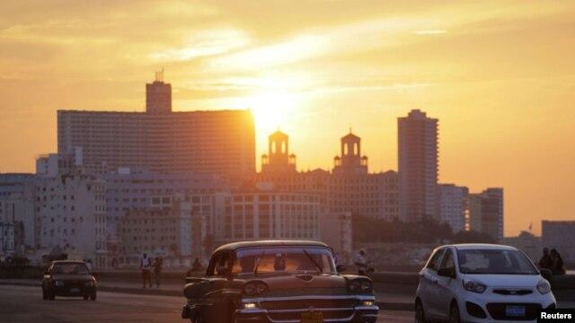 La Habana es un gran museo del automovilismo.