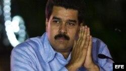 El vicepresidente de Venezuela, Nicolás Maduro.