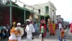 Carnaval infantil en Guantánamo