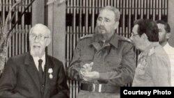 Carlos Rafael Rodríguez, Fidel Castro y Raúl Castro Rúz