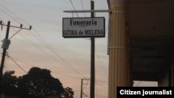 Reporta Cuba. Funeraria de Güira de Melena. Foto: Jorge Bello.