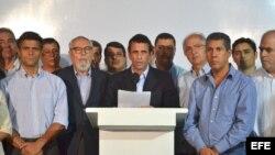 El líder opositor venezolano, Henrique Capriles, en foto de archivo