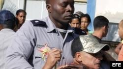 Protestas en La Habana contra la represión policial